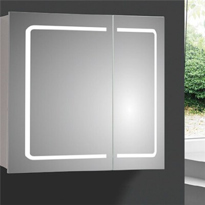 Aluminium Bathroom LED Light Mirror (A-8007)