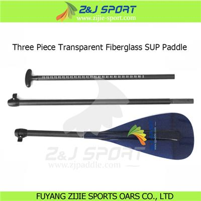 3 Piece Transparent Stand Up Paddle