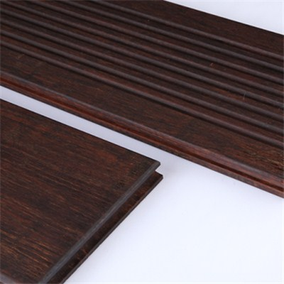 DassoXTR outdoor decking, smooth & wave surface, reversible, with T&G at ends BSWO-S+W20