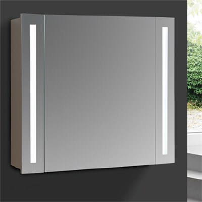 Aluminium Bathroom LED Light Mirror (A-8008)