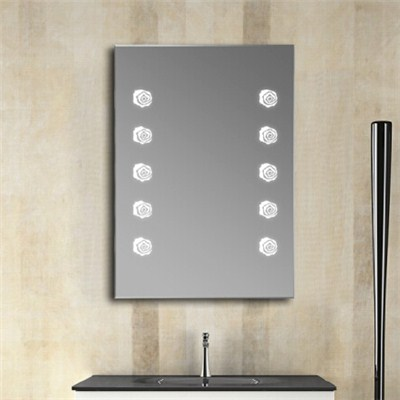 Aluminium Bathroom LED Light Mirror (GS061)