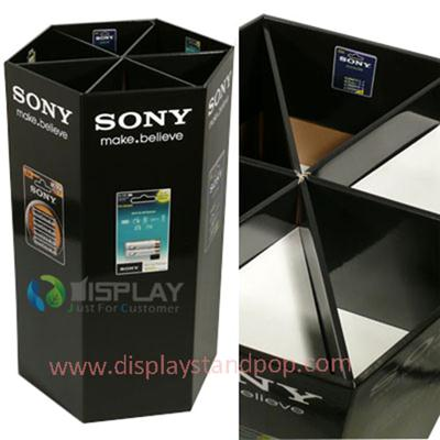 Promotion Custom Product Cardboard Retail Dump Bin