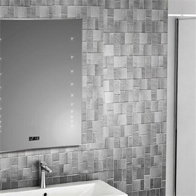 Aluminium Bathroom LED Light Mirror (GS026)