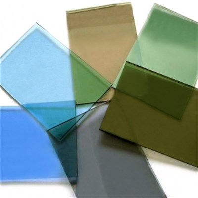 Dark Blue float glass