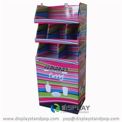 Cardboard Pallet Display with a Base, Point of Purchase Cardboard Displays