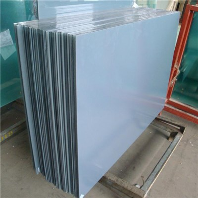 Laminated Silk screen printed glass