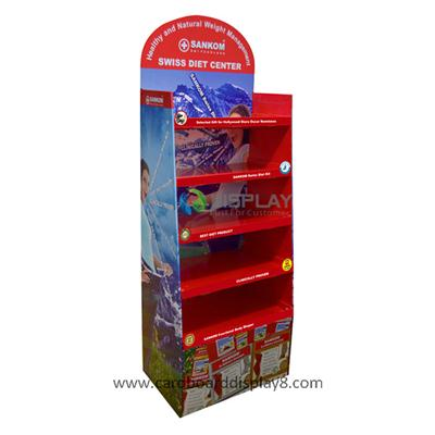High Quality Cardboard Medicine Display Stands