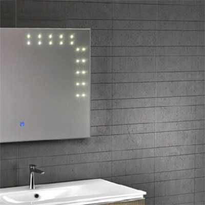 Aluminium Bathroom LED Light Mirror (GS011)