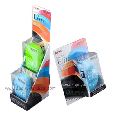 Supply Color Printing Cardboard Counter Displays For Supermarket Promotion