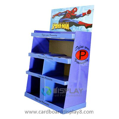 Spider-Man Toy Display Stand, POP Cardboard Toy Display for Toy Promotion