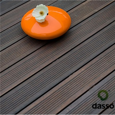 DassoXTR Outdoor Bamboo Decking Wave& Smooth Surface Reversible with T&G at ends