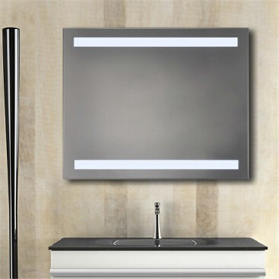 Aluminium Bathroom LED Light Mirror (GS054)