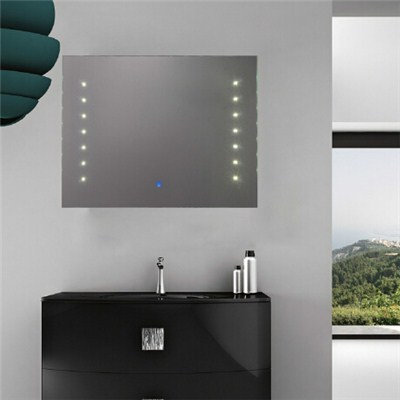 Aluminium Bathroom LED Light Mirror (GS017)