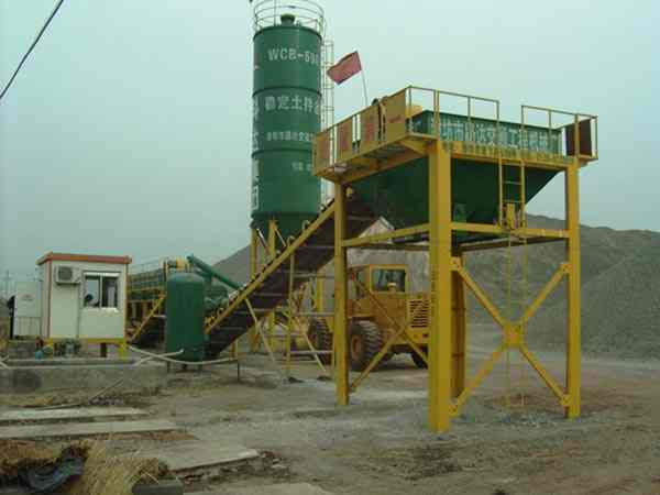 WCB600 Stablized Soil Mixing Plant