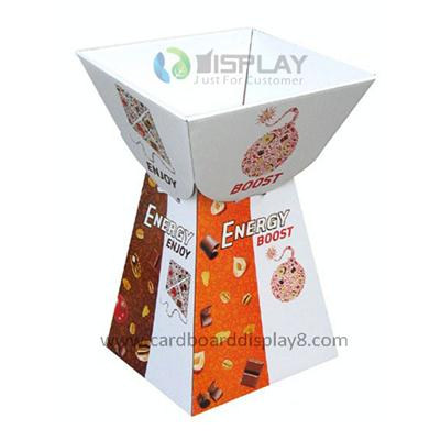 Eco-friendly Customized Cardboard Retail Dump Bins Display