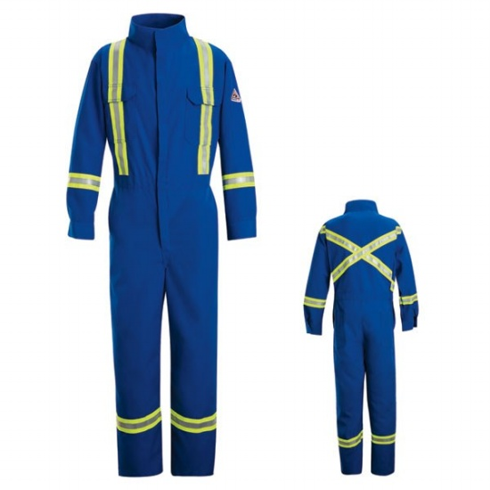 BIFLY Flame Resistant Premium Coverall with Reflective Trim