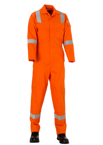 BIFLYfire proof Coverall with Reflective Trim