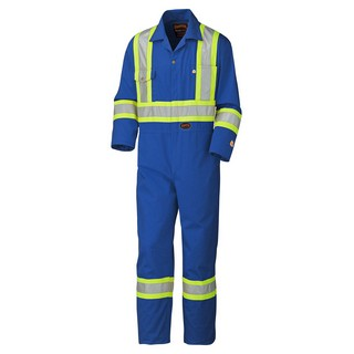 Flame Resistant Premium Coverall with Reflective Trim