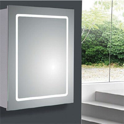 Aluminium Bathroom LED Light Mirror (A-8005)
