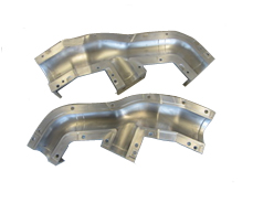 Air-duct aluminium molds 4