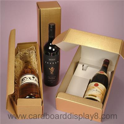 Wholesale Custom Cheap Recycled Decorate Luxury Wine Gift Box