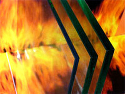 Heat Insulation fireproof glass