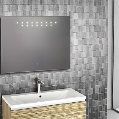 Aluminium Bathroom LED Light Mirror (GS005)