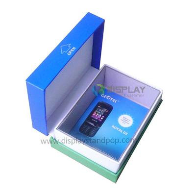 Customized High Quality Cardboard Empty Mobile Phone Box