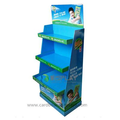 Cheap Custom Printed Paper Display Cardboard Stands