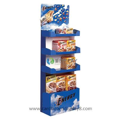 Tier Cardboard Stand Displays For Health Food
