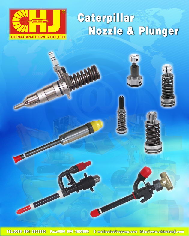 CAT, Nozzle and Plunger