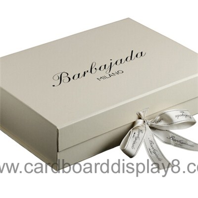 High Quality Luxury Custom Paper Gift Box With Ribbon