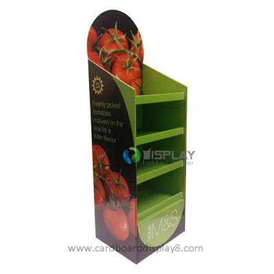 Best Quality Reasonable Price Cardboard Display For Food