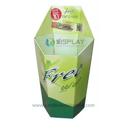 Customize Cardboard Dump Bin Display For Supermarket