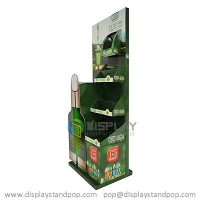 Essence POP Display Shelf, Cardboard Display Shelf for Cosmetics Promotion