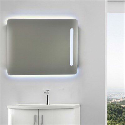 Aluminium Bathroom LED Light Mirror (GS052)