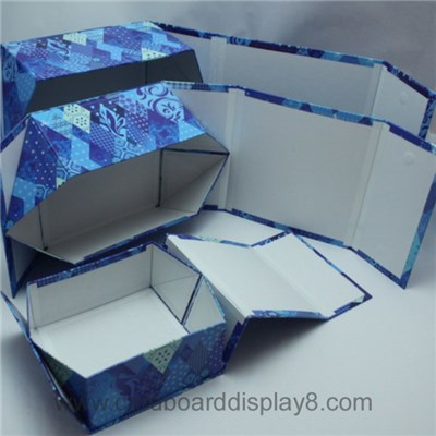 2015 New Product Paper Folding Storage Box