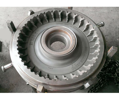 Solid Tyre Mould 7.00-12