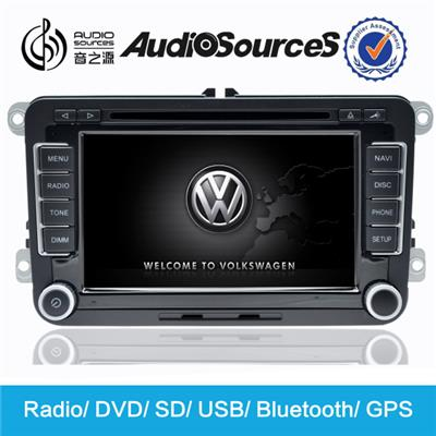VW car dvd player