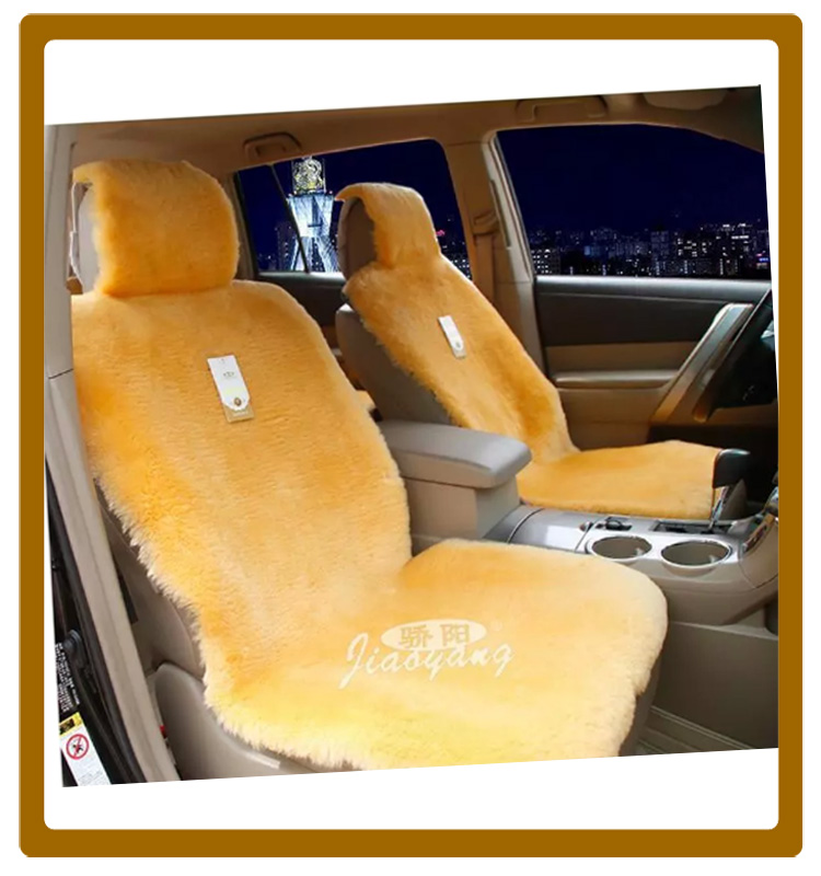 Wholesale! Shorn sheepskin Car Seat Covers
