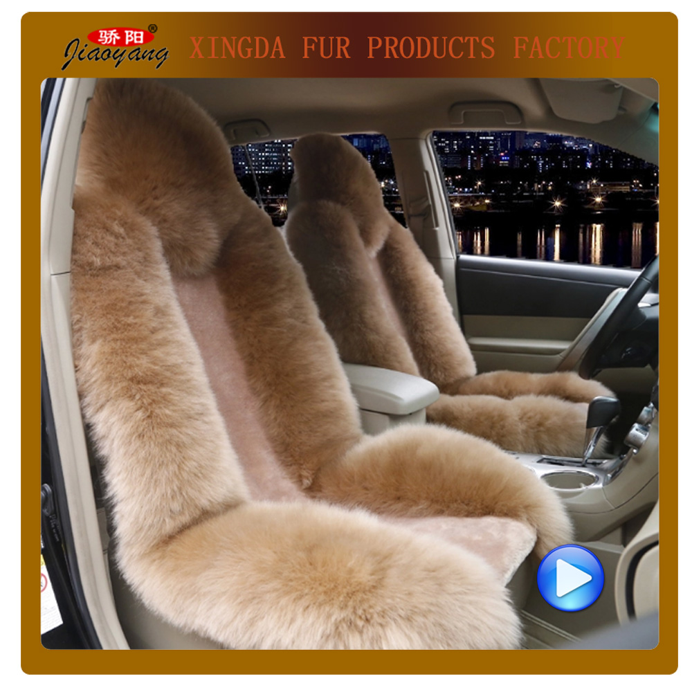 Wholesale! Unversal all seasons car seat cover with high-low wool