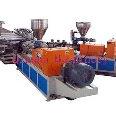 Three-layer Coextrusion PVC Foam Board Produciton Line