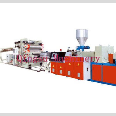 PVC Single Layer Free Foam Sheet Production Line
