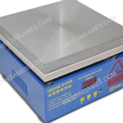 Youyue 946B Electronic Hot Plate Preheat Station LCD Separator Machine 220V AC Heat Area 200*200mm