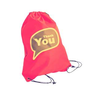 Heat Transfer Printing Drawstring Bag