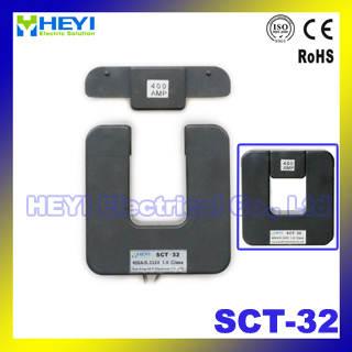 Split core current transformer clamp on