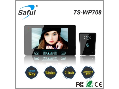 Saful TS-WP708 1V1 Wireless Video Door Phone