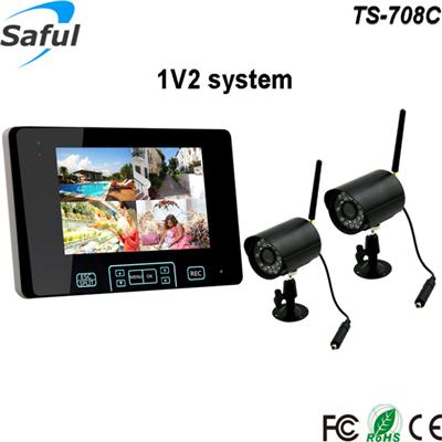 TS-708C 1V2 wireless monitor system