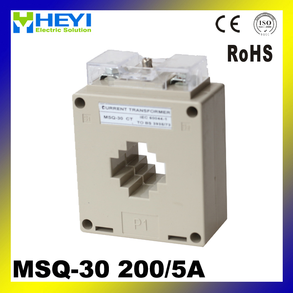 window type current transformer with busbar