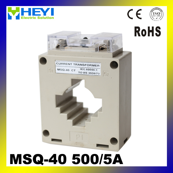 MSQ current transformer for metering